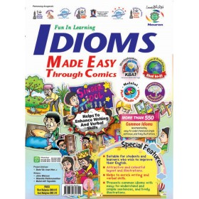 IDIOMS MADE EASY THROUGH COMICS SK