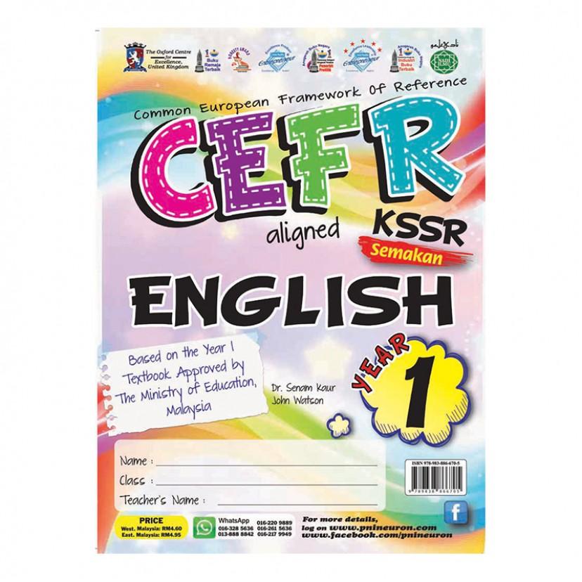 P1 CEFR KSSR SK ENGLISH