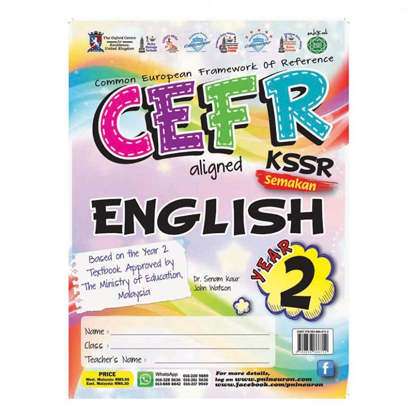 P2 CEFR KSSR SK ENGLISH