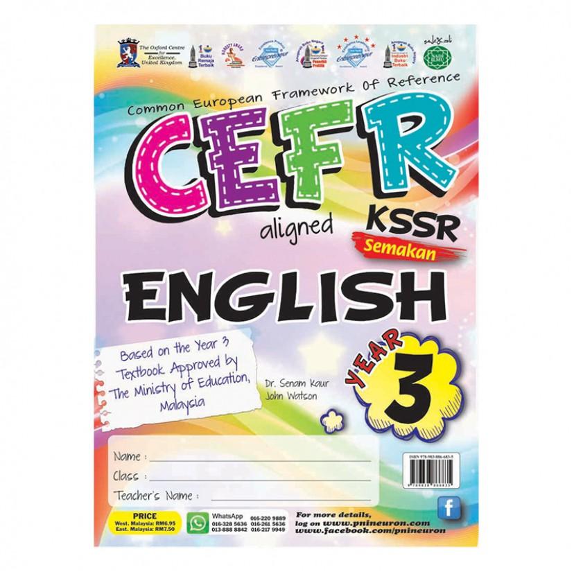 P3 CEFR KSSR SK ENGLISH