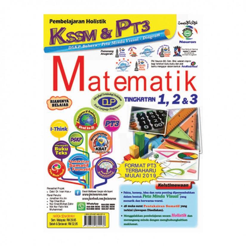 TINGKATAN 1-3 PEMBELAJARAN HOLISTIK KSSM & PT3 MATEMATIK