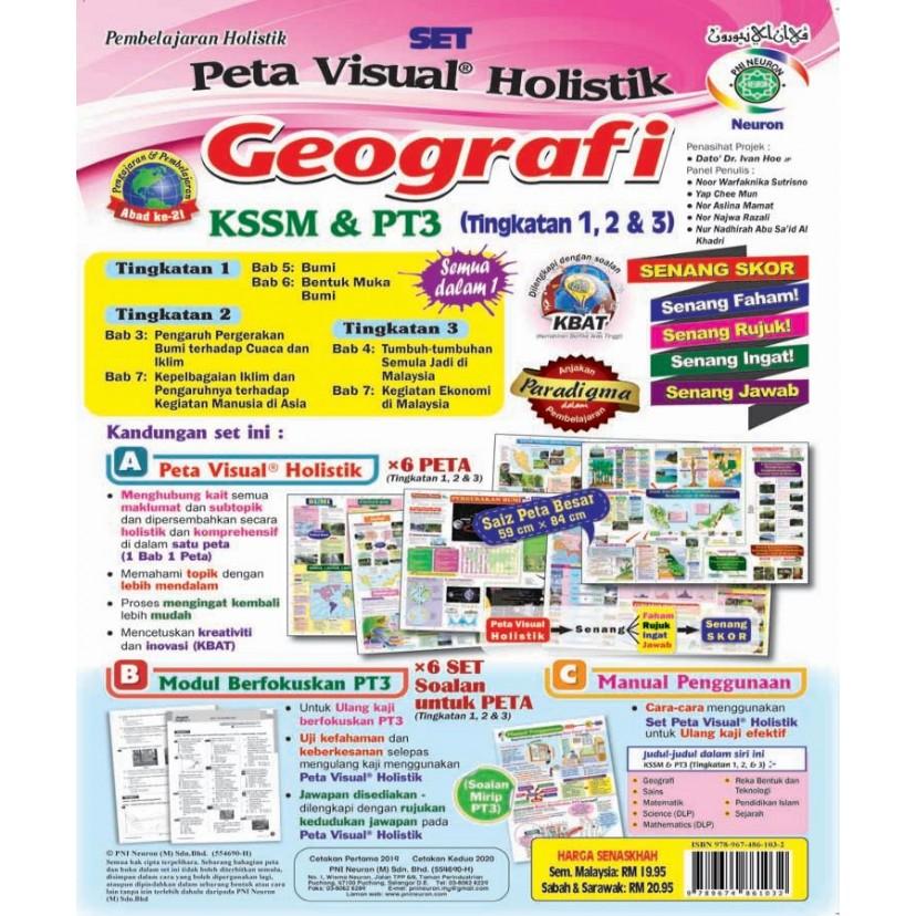 PVH KSSM & PT3 Geografi Tg 1, 2 & 3