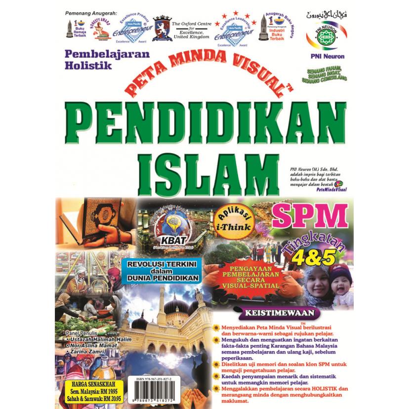 PEMBELAJARAN HOLISTIK PETA MINDA VISUAL PENDIDIDKAN ISLAM TING 4 & 5 SPM