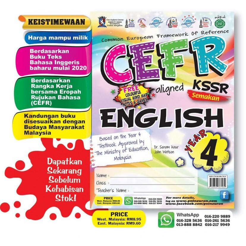CEFR English Year 4