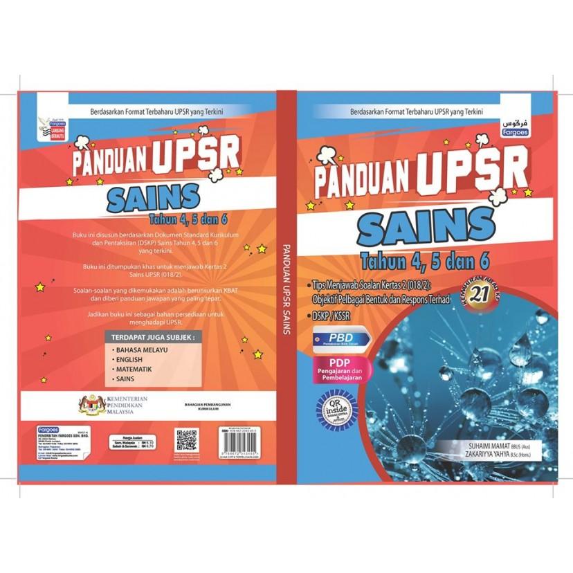 Panduan UPSR Tahun 4,5,6 SAINS