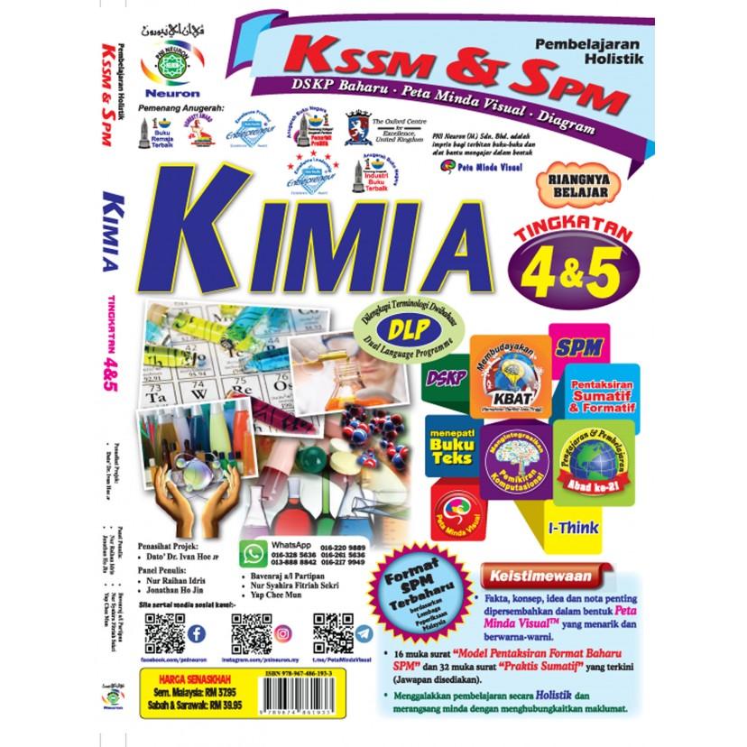 Pembelajaran Holistik KSSM & SPM Kimia Tingkatan 4 & 5 (DLP)