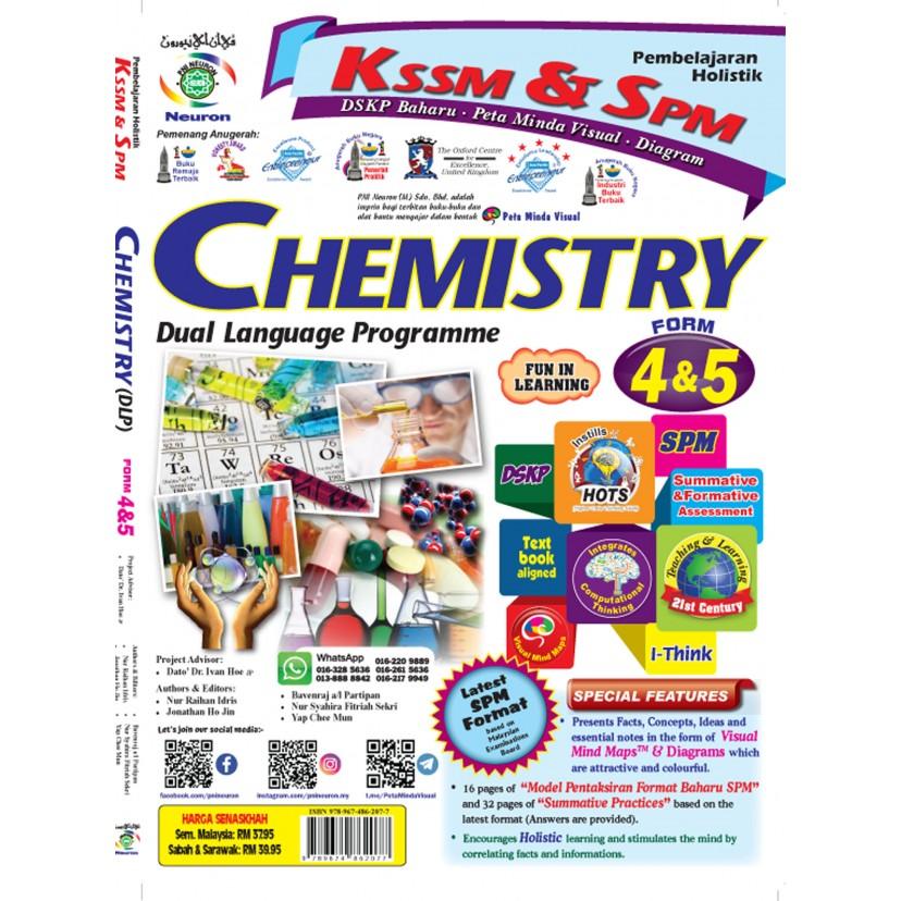 Pembelajaran Holistik KSSM & SPM Chemistry Form  4 & 5 (DLP)