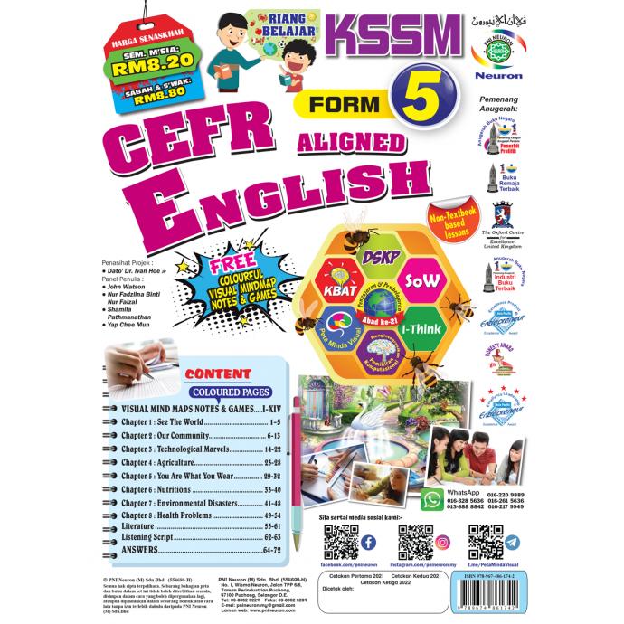 Riang Belajar KSSM CEFR Alined English Form 5